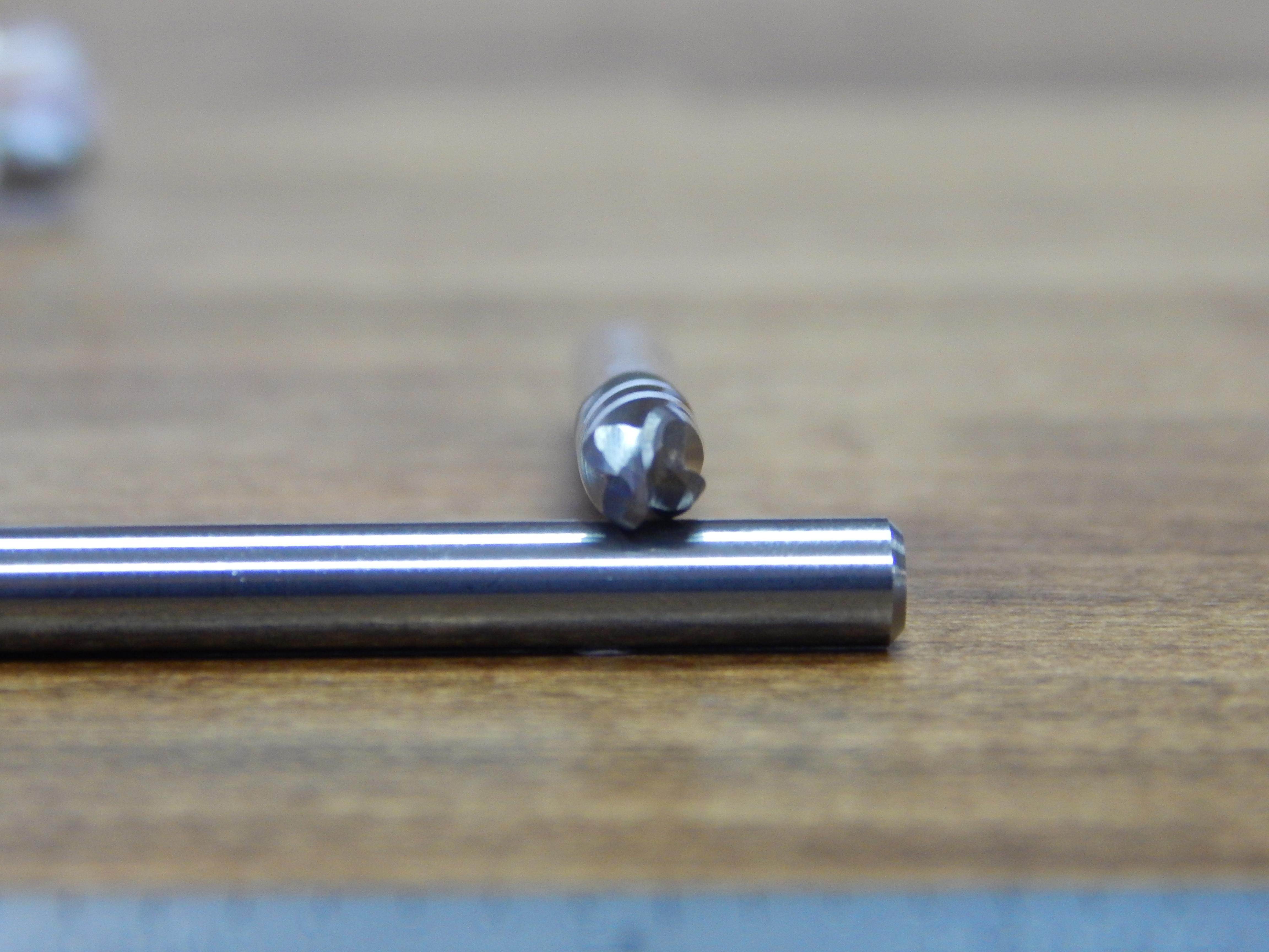 11//16 Regular Length YG-1 43350CC HSSCo8 End Mill Ball Nose TiCN Finish 3-3//4 Length 4 Flute