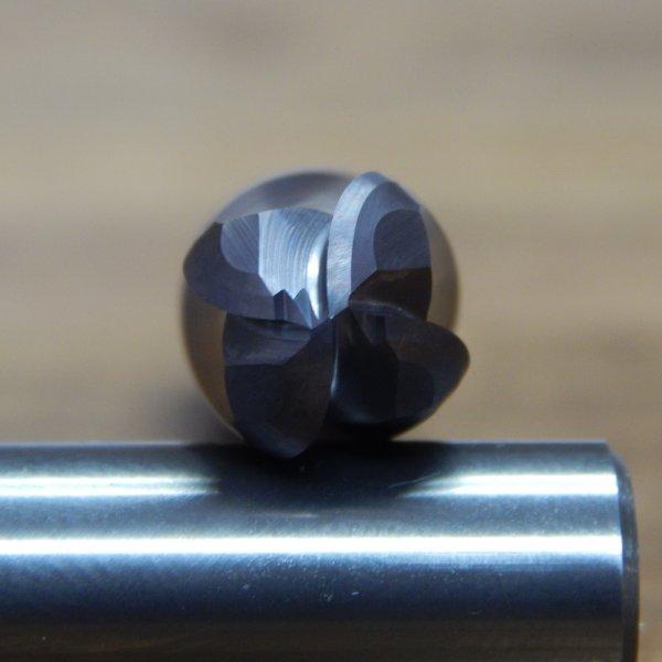 1//8 .125 4 FL AlTiN Carbide Ball Nose End Mill SCS *BRAND NEW* 001-43-0125-062